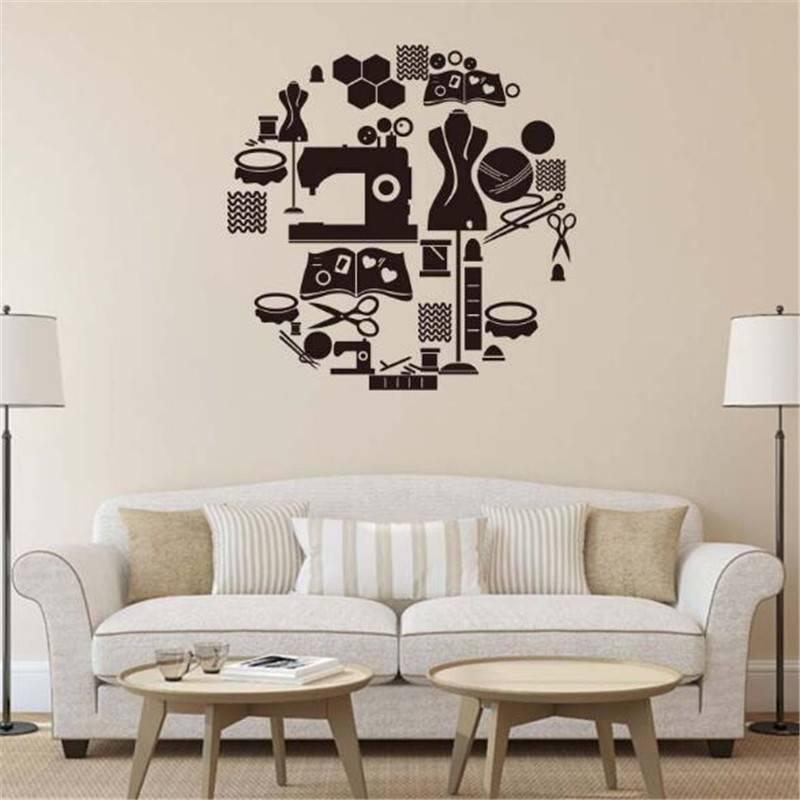 Декоративные наклейки на стену - стикеры. рекомендации по выбору, варианты, виды - школа ремонта