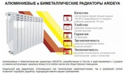 Радиаторы «ростерм»: особенности и характеристики