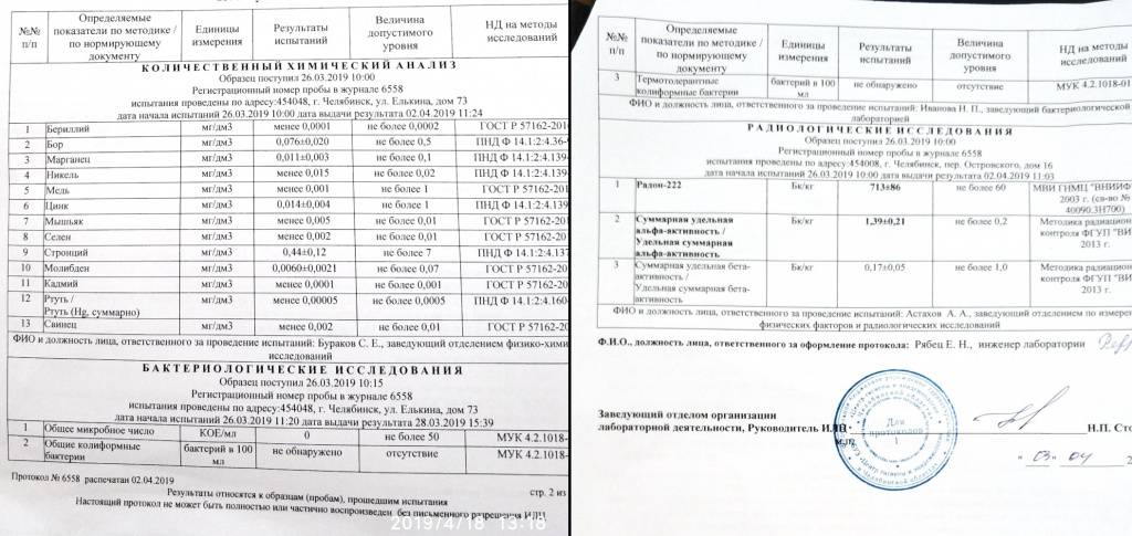 Анализ воды из скважины  стоимость анализов в москве в лаборатории веста