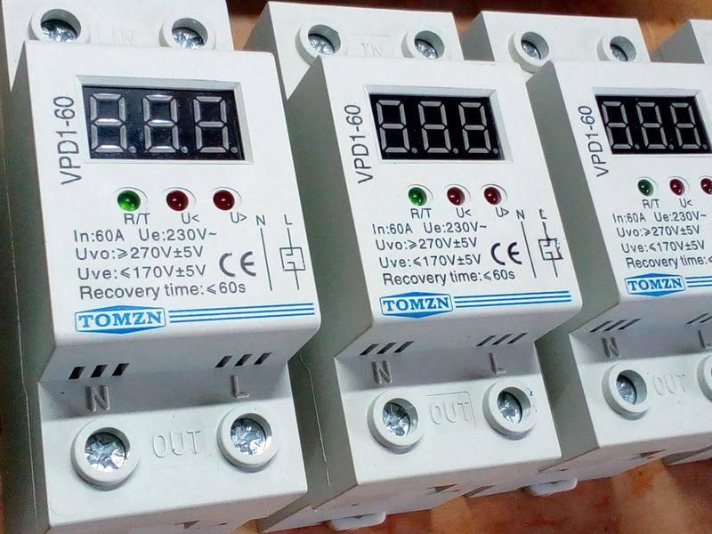 Реле контроля напряжения 1 фазное схема подключения - всё о электрике