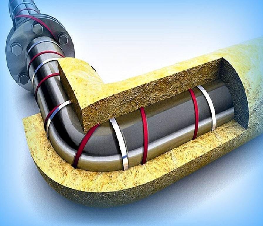 Зачем и как утепляют водопроводные трубы