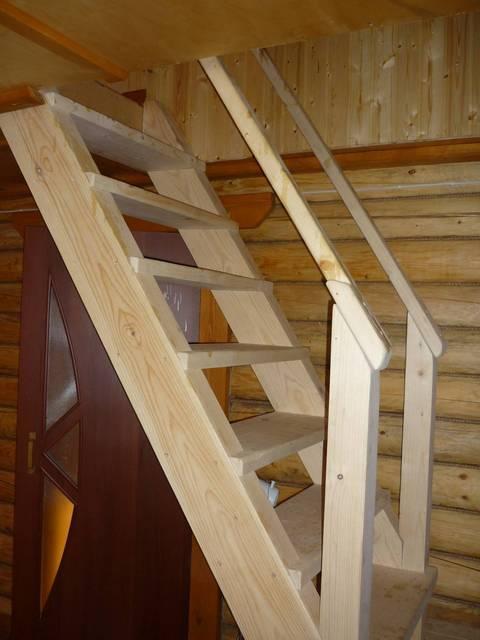 Лестница на второй этаж своими руками: простая железная, деревянная