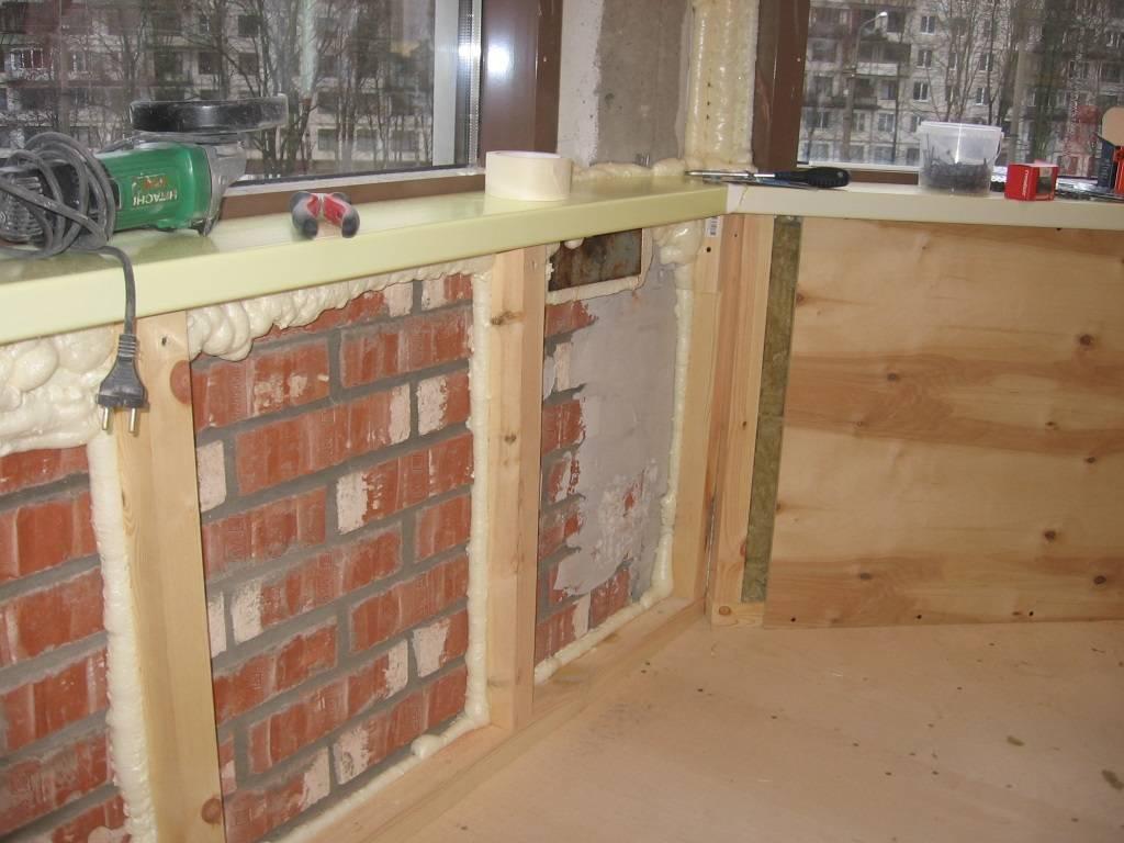 Утепление балкона изнутри своими руками: пошаговая инструкция - строительство и ремонт