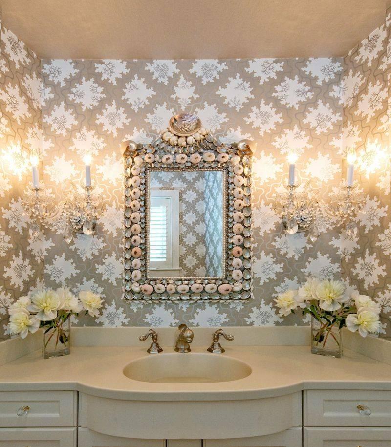 Жидкие обои для ванной комнаты: особенности, плюсы и минусы, правила выбора