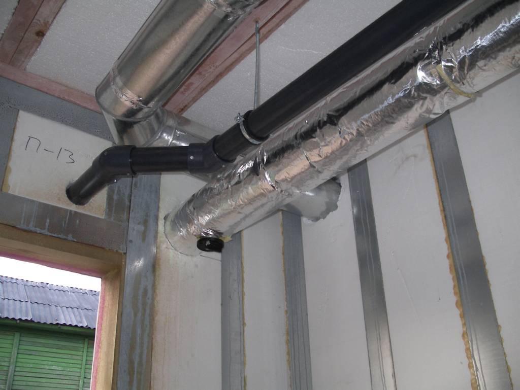 Отопление дома воздушным способом: преимущества, разновидности