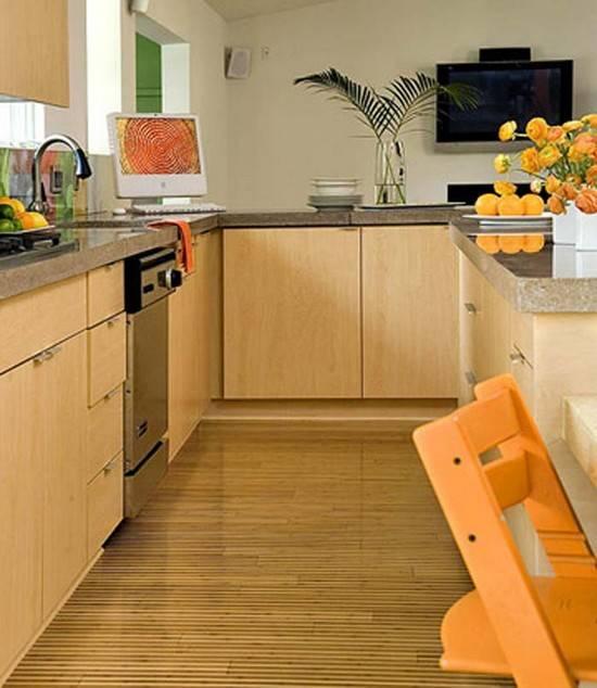 Напольное покрытие для кухни: виды напольных покрытий и что лучше выбрать