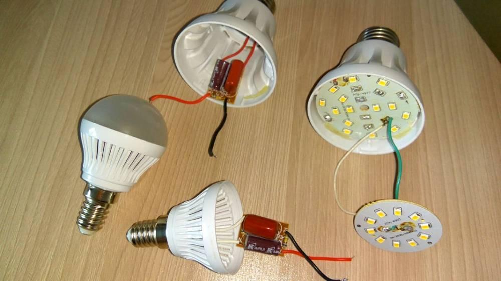 Как починить светодиодную лампу - всё о электрике в доме