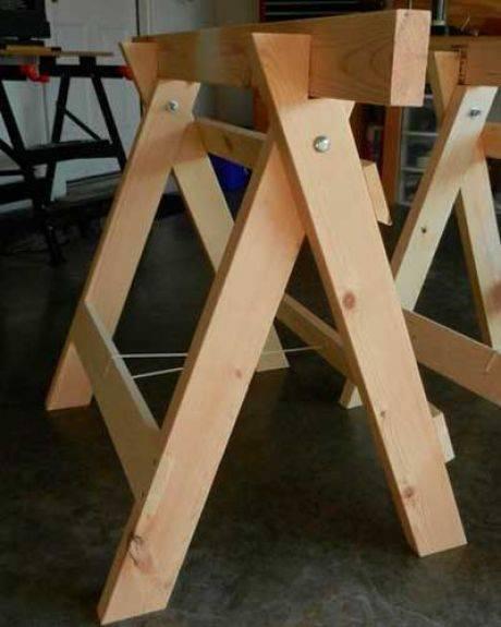 Козлы для дров - 80 фото создания конструкции своими руками