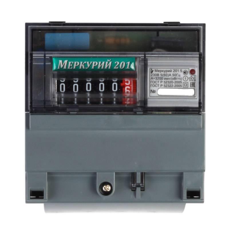 Умный электросчетчик меркурий