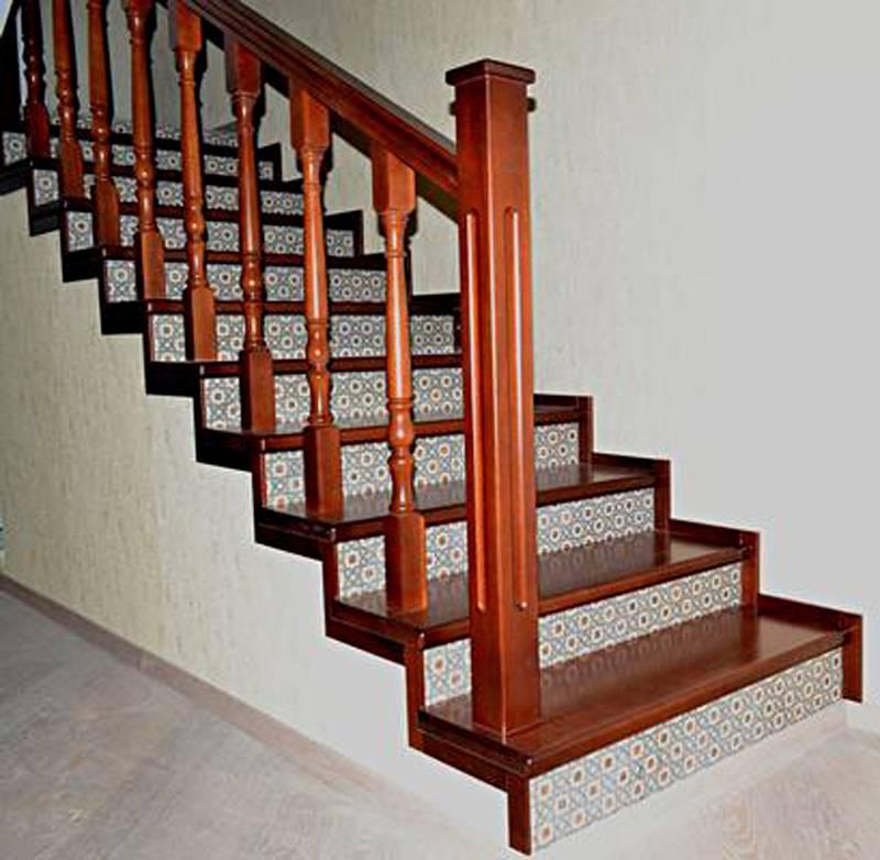 Отделка ступеней деревянных, металлических и бетонных лестниц своими руками: фото, чем и как отделать лестницу