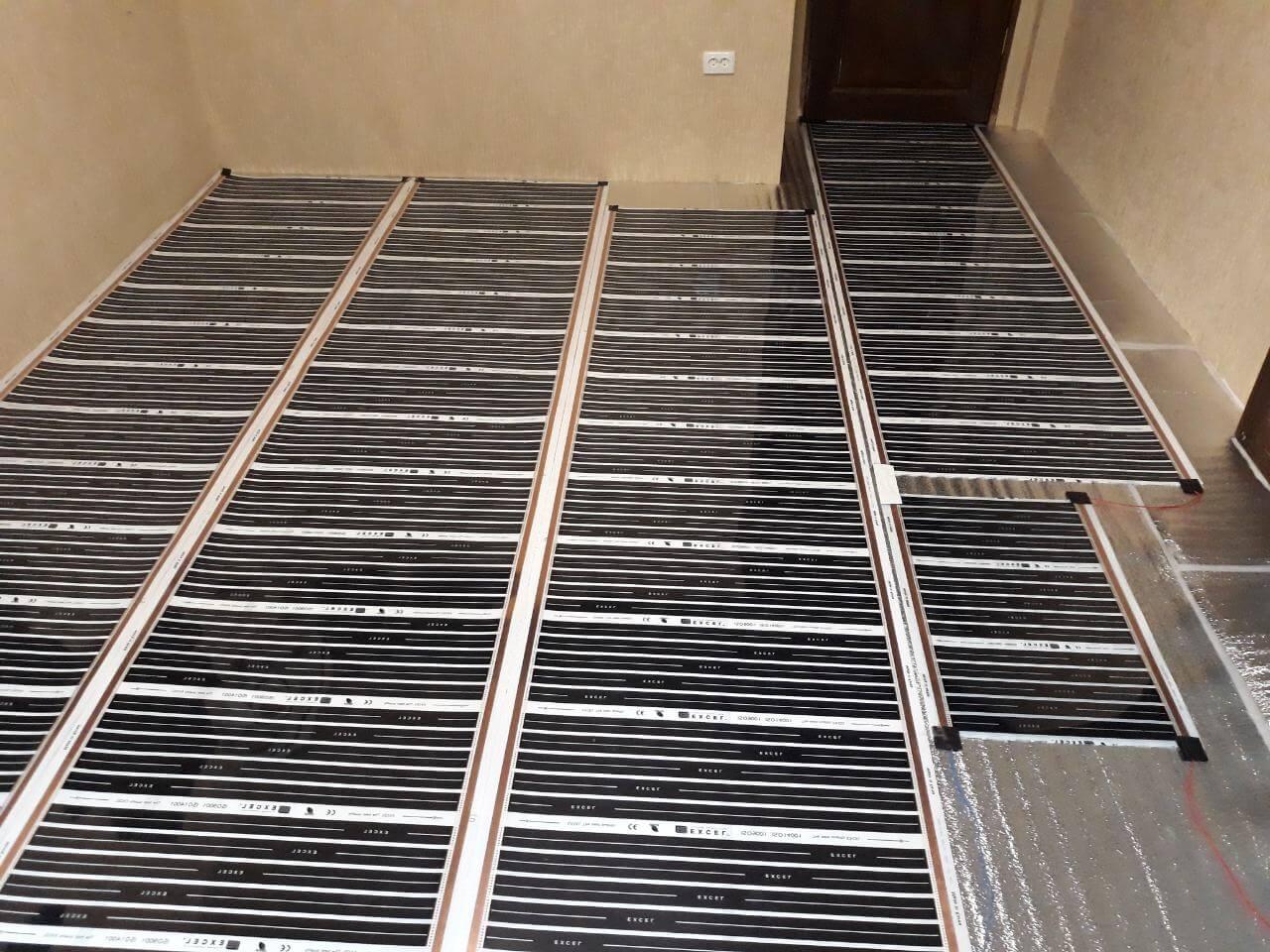 Альтернативное отопление – плёночный тёплый пол. отзывы, расход электроэнергии, преимущества и недостатки