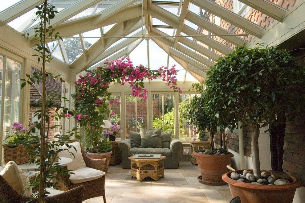 Зимний сад в частном доме: как обустроить своими руками, инструкция, фото