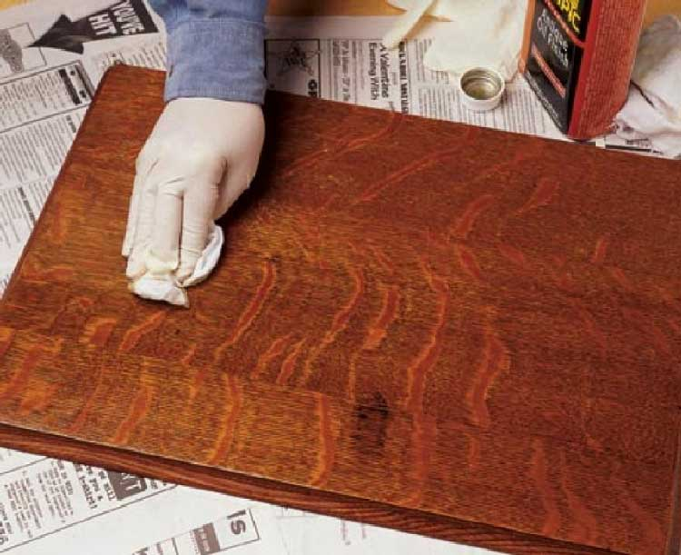 Чем покрасить ламинат в домашних условиях