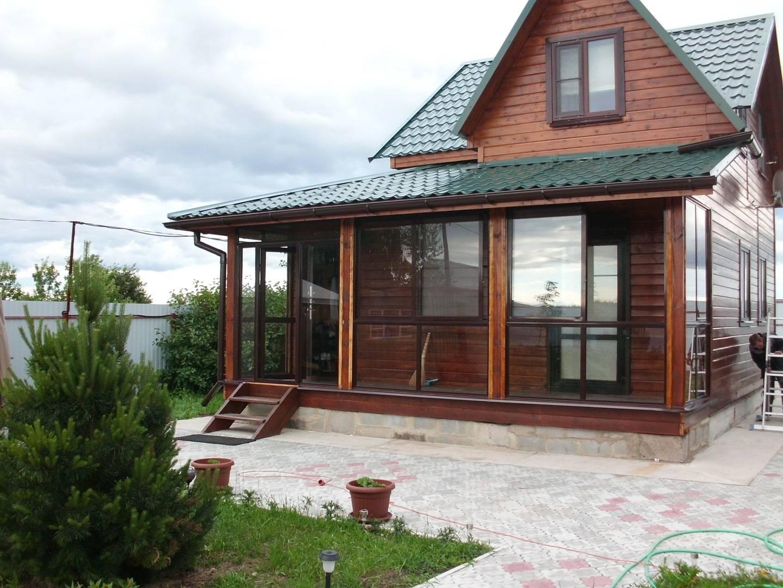 Как построить веранду к дому с пластиковыми окнами