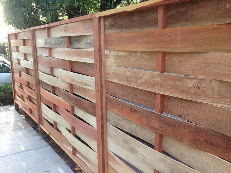 Забор плетенка из доски своими руками - всё о воротах и заборе