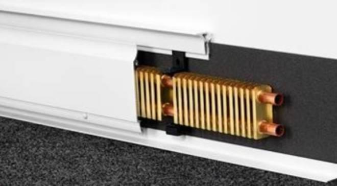 Система отопления теплый плинтус | всё об отоплении
