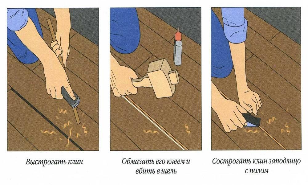 Что сделать, чтобы не скрипели деревянные полы – способы устранения скрипа