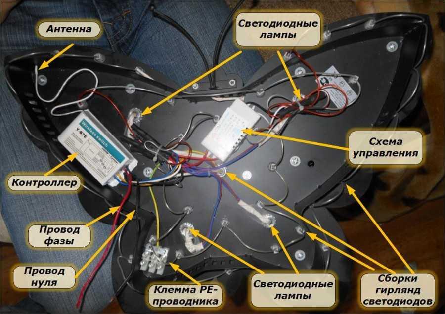 Правильный ремонт люстры с пультом управления своими руками