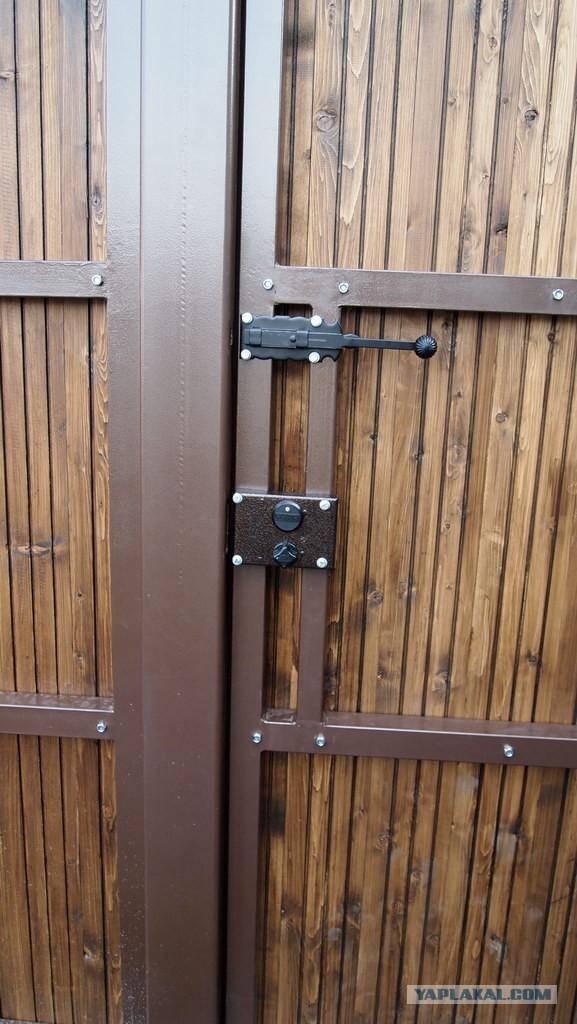 Замок на калитку своими руками - всё о воротах и заборе