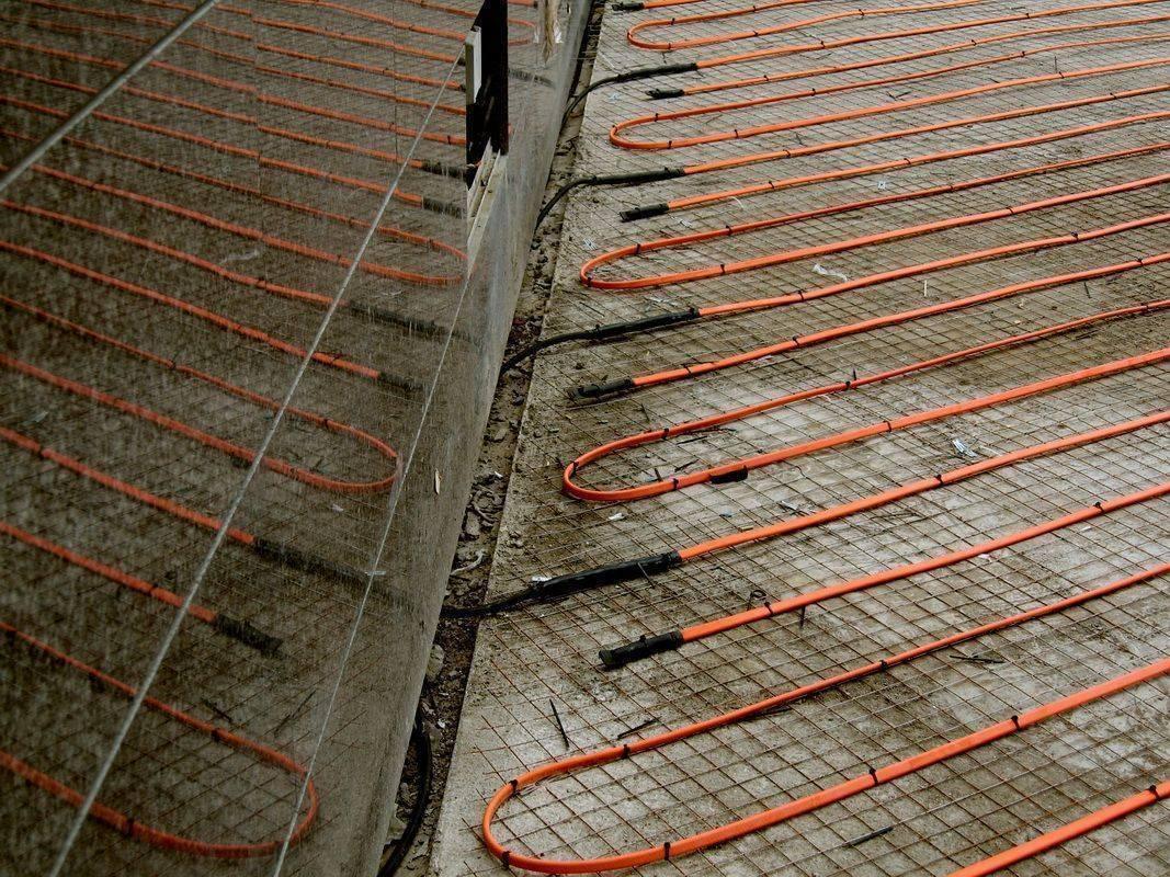 Провод для прогрева бетона: виды, монтаж