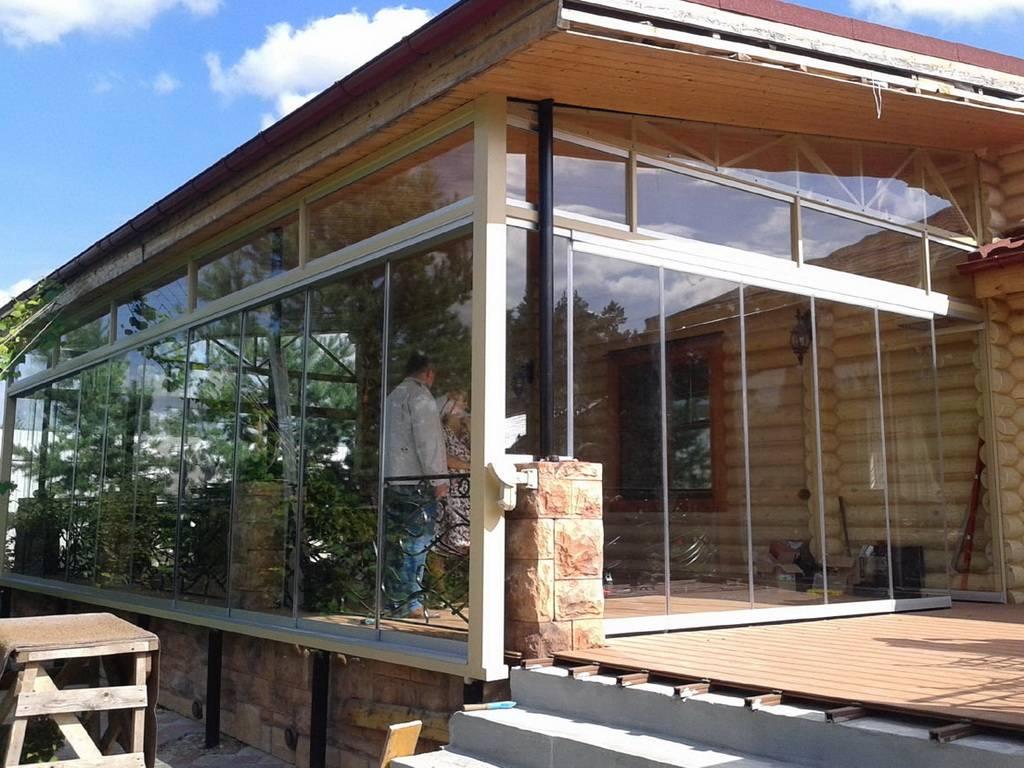 Веранда к дому с пластиковыми окнами: особенности конструкции