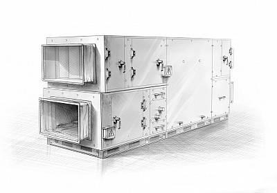 Как устроена каркасно-панельная установка для вентсистем - ооо «рик»
