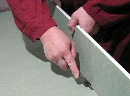 Узнайте чем и как резать гипсокартон - практические советы + видео
