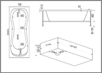 Полный обзор всех видов и форм акриловых ванн, почему стоит покупать угловые модели?