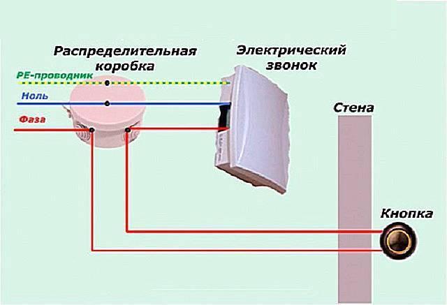 Как подключить звонок в квартире или частном доме - подробная схема