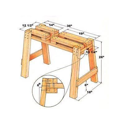 Козлы для дров: чертежи устройств для максимально удобного распила (80 фото)