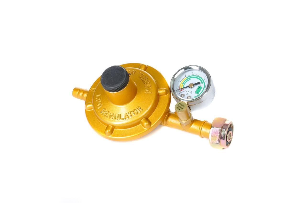 Газовый редуктор для бытового баллона: принцип работы устройства, применение и выбор регулятора