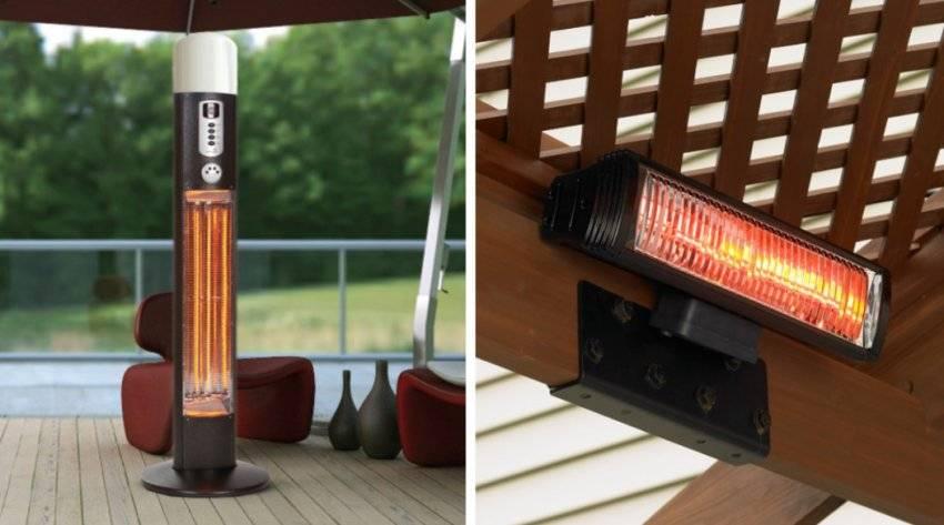 Уличный инфракрасный обогреватель - лучшее отопление