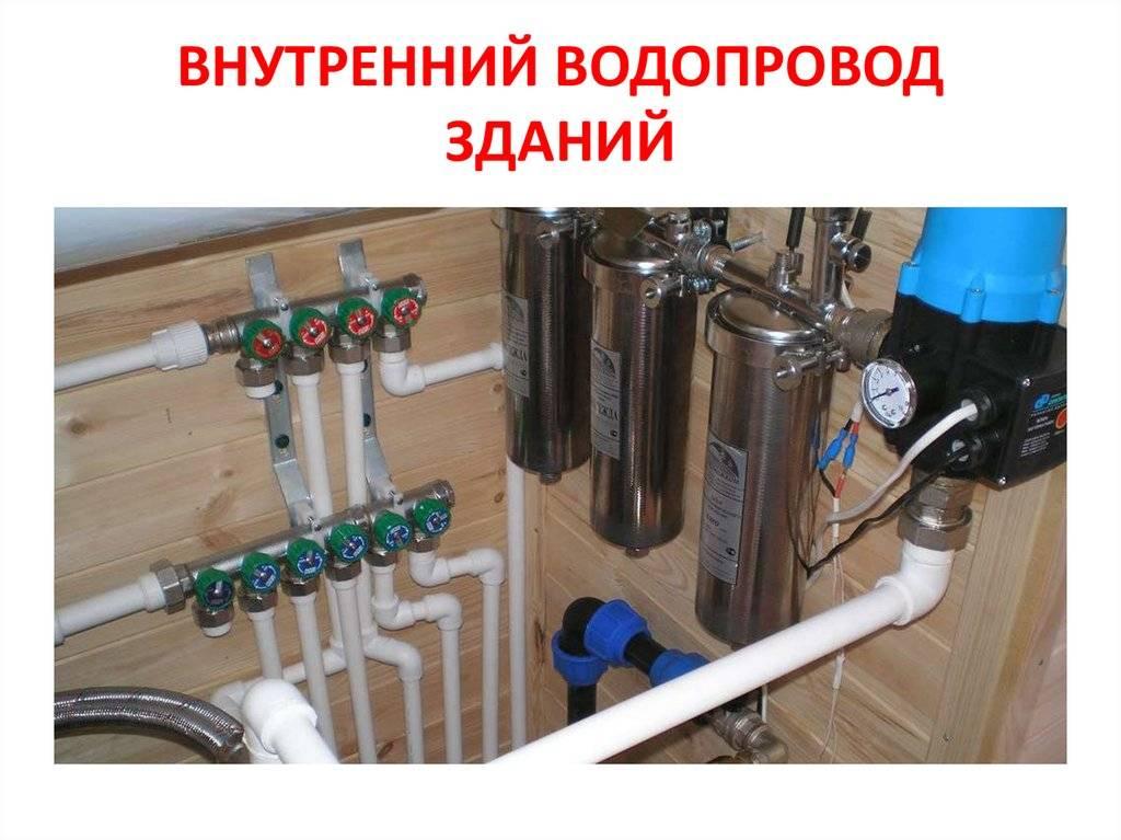 Наружные сети водопровода и канализации: источники