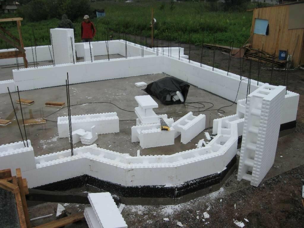 Опалубка стен: съемная для монолитных стен, из бетона и металлическая, расчет давления на стенки, монтаж. как сделать своими руками?