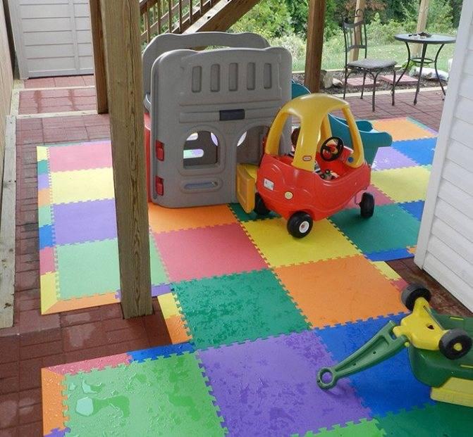 Мягкий пол для детской – напольное покрытие или игрушка?