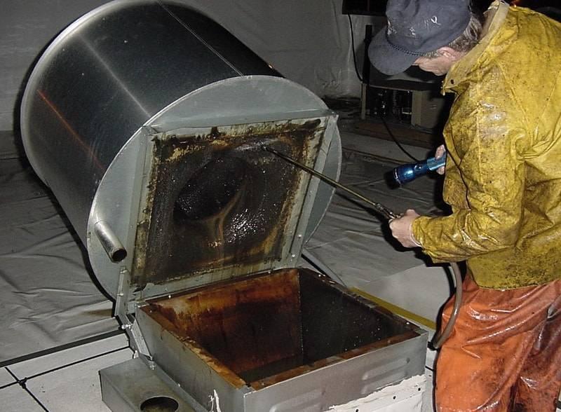Оборудование для очистки систем вентиляции, вентиляционных каналов и воздуховодов