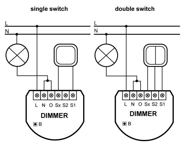Как правильно подключить диммер