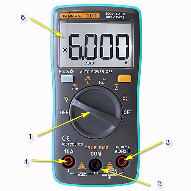 Как пользоваться цифровым мультиметром - инструкция