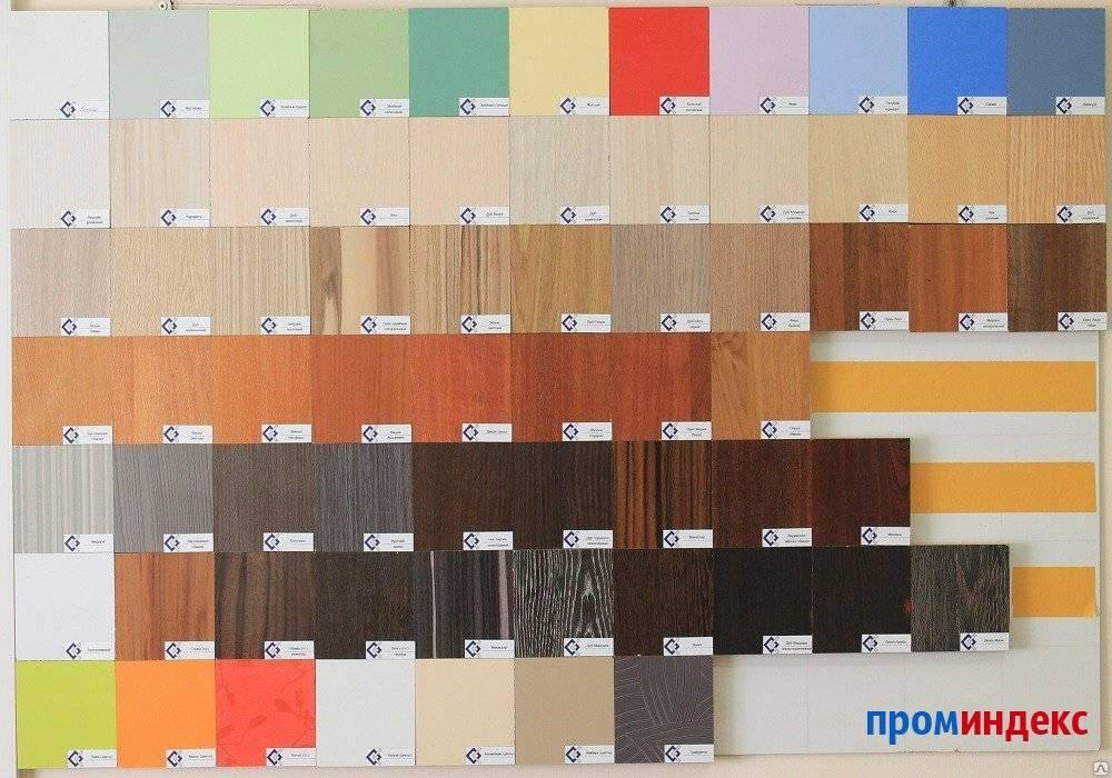 Разновидности и габариты кромок для лдсп