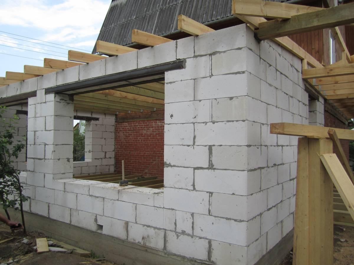 Строим дом из газобетона своими руками
