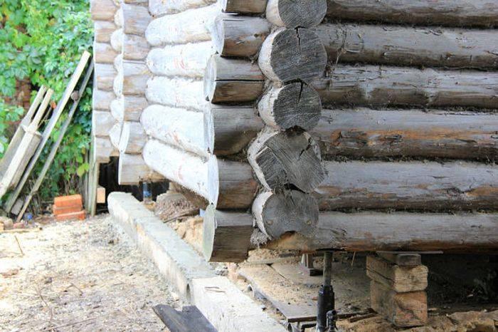 Как заменить в бревенчатом доме поврежденные или гнилые бревна
