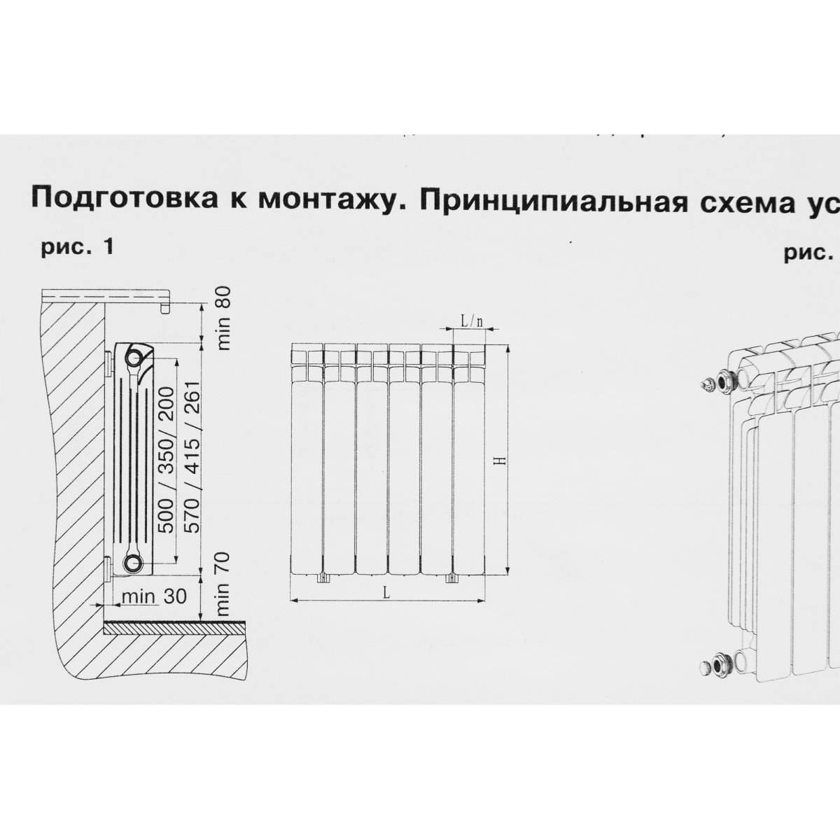 Биметаллические радиаторы рифар: обзор приборов и стоимости, правила монтажа, технические характеристики,батареи отопления,rifar supremo.