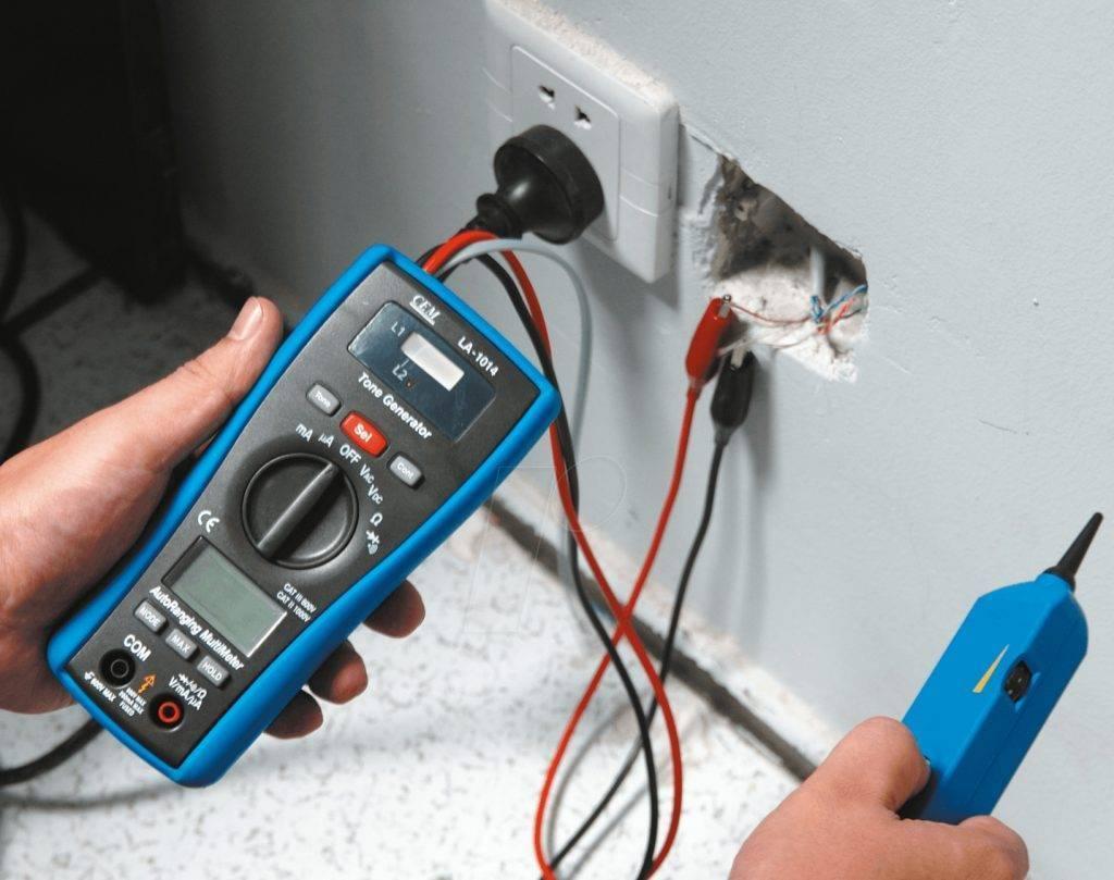 Способы прозвонки проводов и кабелей