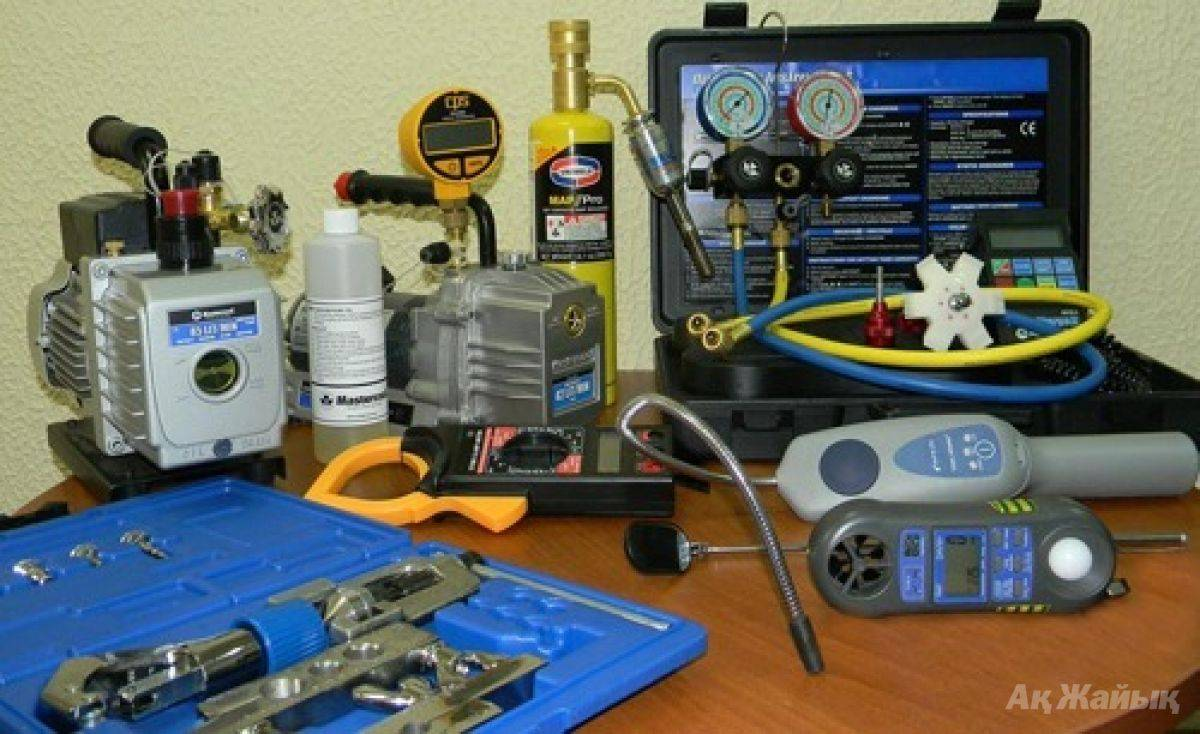 Инструмент для установки кондиционеров: от бытового до профессионального