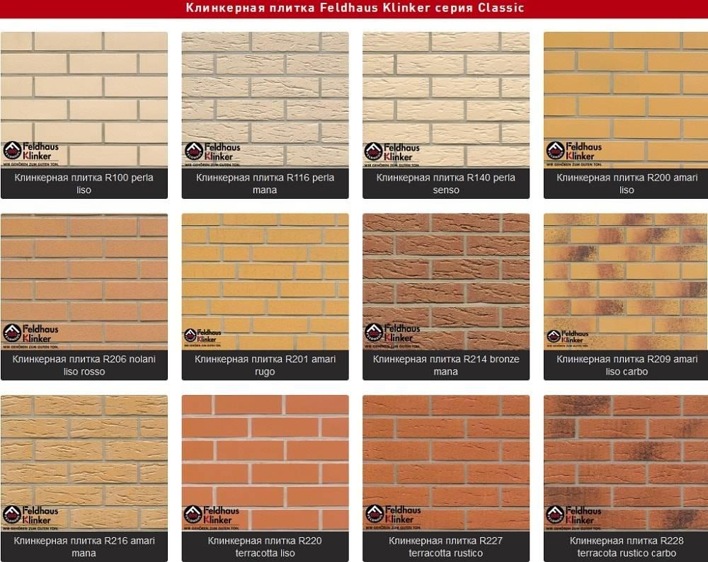 Клинкерная фасадная плитка. как выбрать правильно?