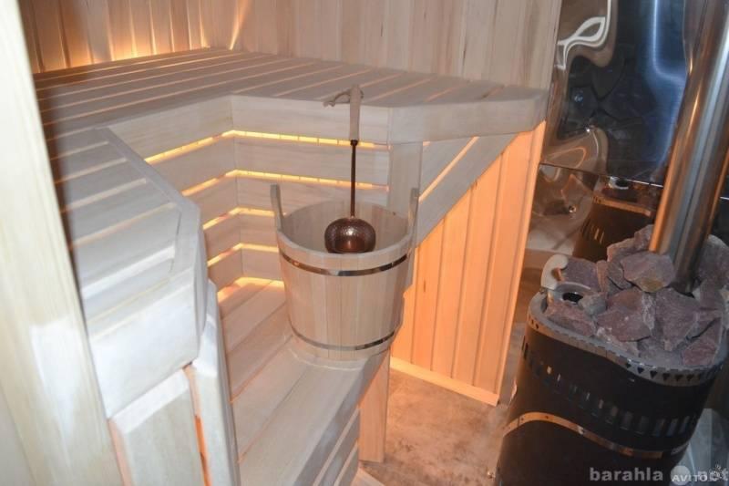 Как сделать внутреннюю отделку бани из бруса своими руками