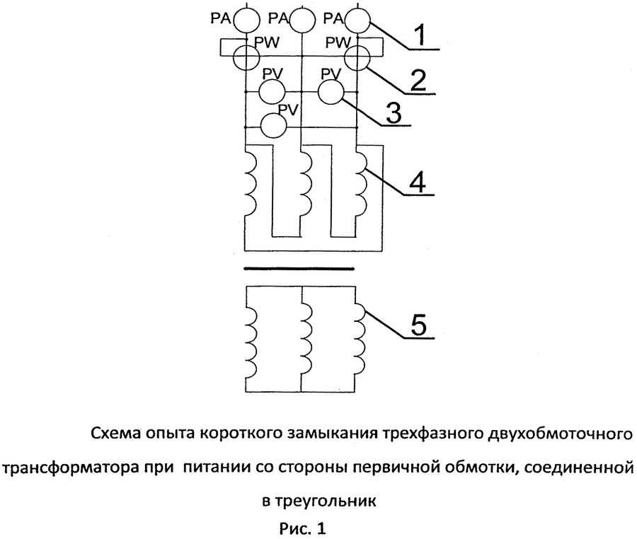 Понятие группы соединения обмоток трансформаторов, таблицы и схемы