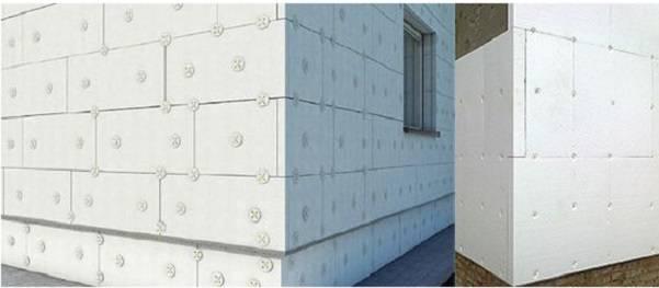 Технология утепления стен из газобетона снаружи при помощи минваты