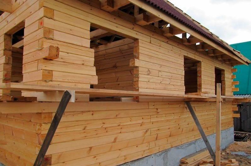 Какой брус лучше для строительства дома в россии: сравнение