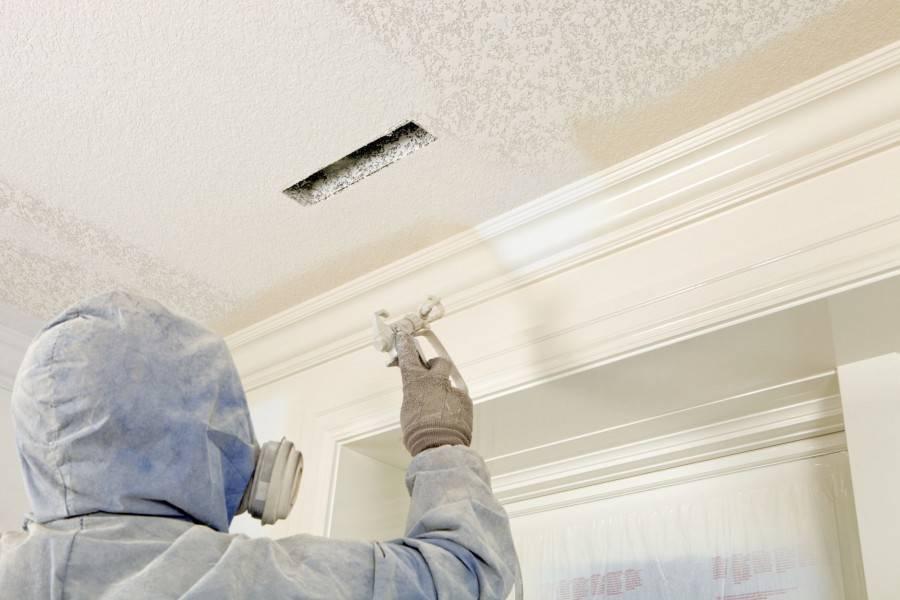 Как и чем красить потолок из гипсокартона, какую краску выбрать, подробное фото и видео